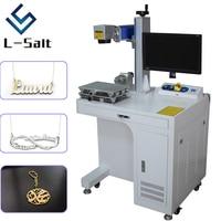 Máquina de marcação a laser de fibra para metais, gravura profunda e nome do corte, jóias do colar