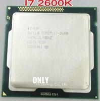 Kostenloser versand original für Intel Core i7 2600K 8M 3,4G 95W Quad Core Prozessor 5GT/ s SR00C LGA 1155 BUCHSE i7-2600K