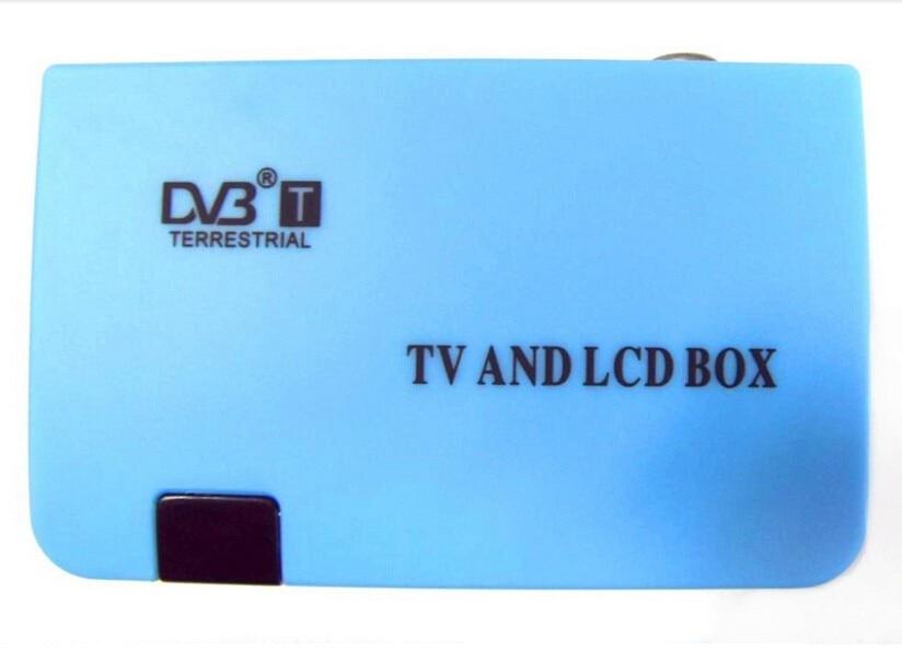 16 Newest Digital TV Box LCD VGA/AV Tuner DVB-T FreeView Receiver DVB VGA  02 for PC monitor TV sets