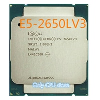 Original Intel Xeon Prozessor E5-2650LV3 OEM Version 1.8GHz 12-Core 65W 30M E5 2650LV3 Desktop CPU E5 2650L V3 freies verschiffen