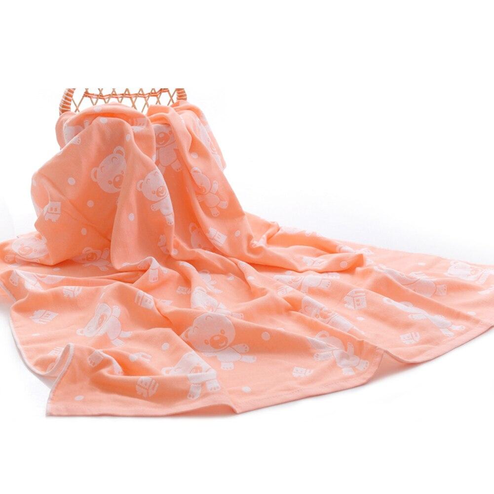 Dziecko bath towel gazy bawełnianej muślinu dziecko towel newborn cotton towel towel absorbingtowels miękkie myjka kreskówki dla dzieci 110*110 cm 12