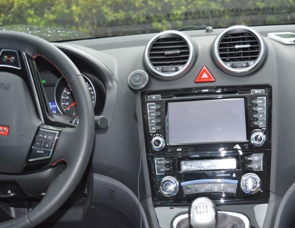 NFC Bluetooth Samochodowy Zestaw 3.5mm AUX Audio Odbiornik Bezprzewodowy Bluetooth 4.0 Odbiornik zestawy Zestaw Głośnomówiący Z Mikrofonem 3.1A Podwójna ładowarka USB Samochód ładowarka 6