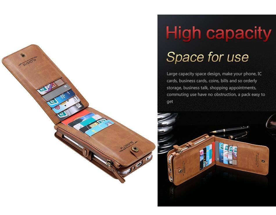 Floveme retro skóra telefon case do samsung galaxy note 3 4 5/s7/s6 edge plus metalowy pierścień coque karty portfel ochronne pokrywa 9