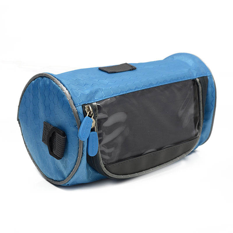 Wodoodporny Ekran Dotykowy Sakwy Rowerowe Rower Górski Rower Torby Phone Bag Case Rower Szosowy Rura Przednia Kierownica Torba Cylindra 20
