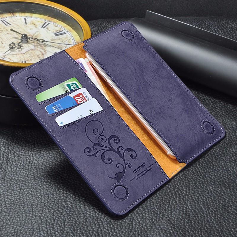 5.5 Uniwersalny Vintage Odwróć Skórzany Portfel Etui Do IPhone 5 6 7 Plus dla HTC Huawei LG Sony Dla Samsung S4 S6 Krawędzi Uwaga 7 Case 13