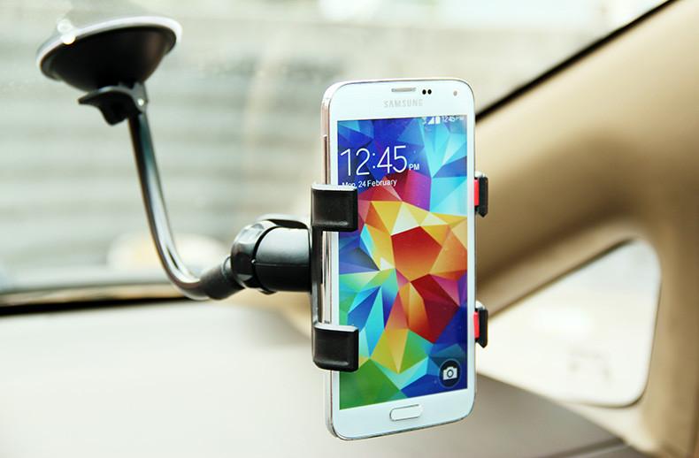 Uniwersalny uchwyt samochodowy uchwyt na telefon komórkowy dla iphone 6 6 s plus se obsługi stoiska dla samsung elastyczny uchwyt telefonu dla sony 9