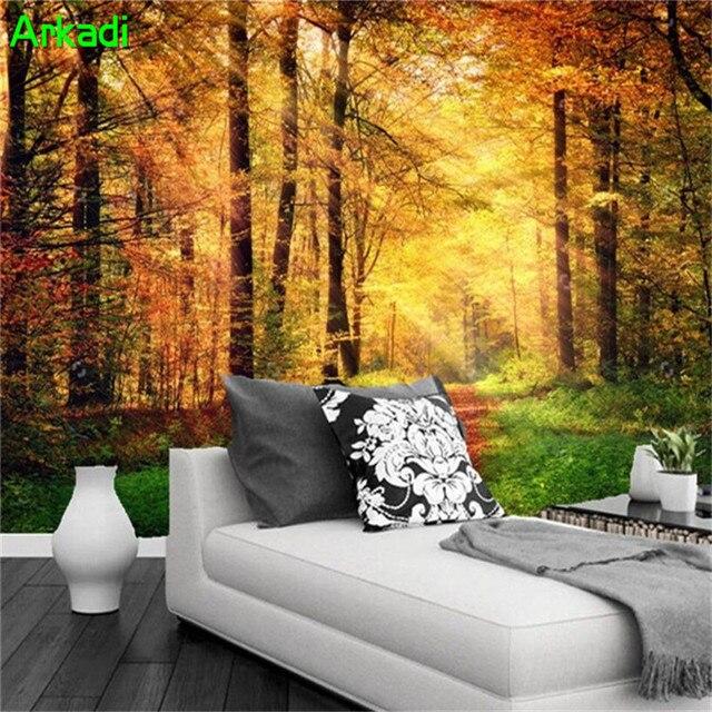 Moderna 3D Natura Fotografia di Paesaggio Pittura Murale ...