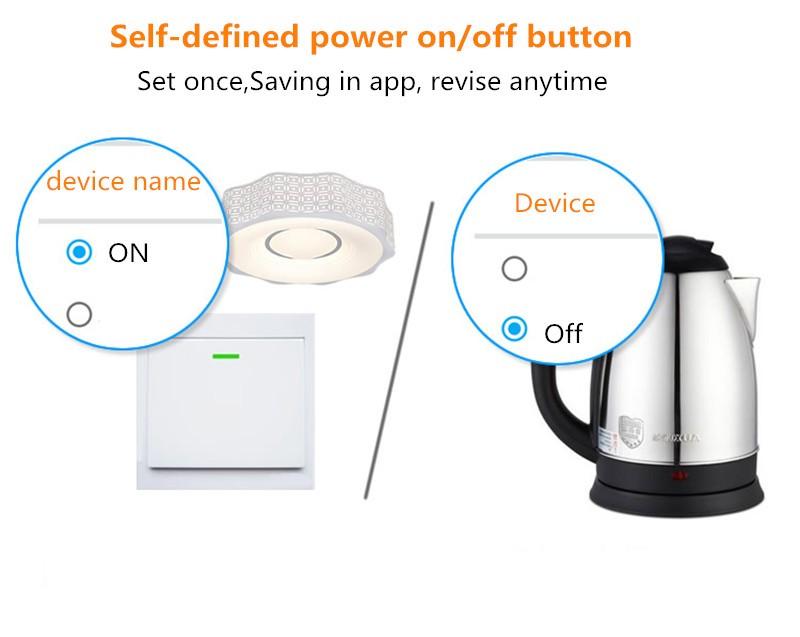 Itead Sonoff Inteligentny Wifi Przełącznik Czasowy Inteligentny Uniwersalny Bezprzewodowy Przełącznik DIY MQTT COAP Android IOS Zdalnego Sterowania Inteligentnego Domu 5