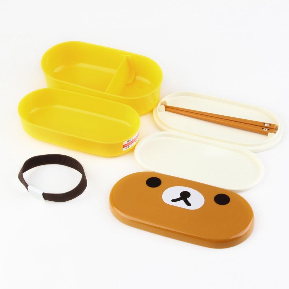 Plastic Bento Lunch Box kitchen tools