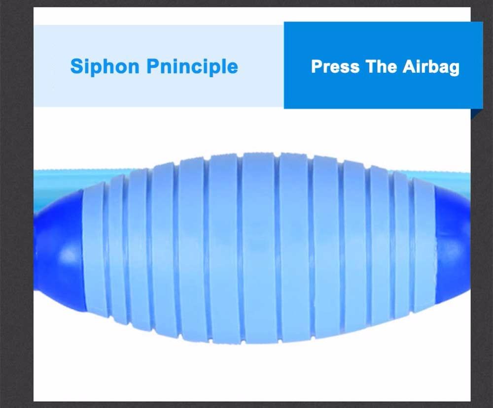 how to clean aquarium siphon hose