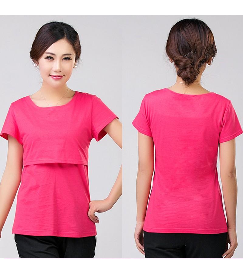 2016 lato macierzyństwo pielęgniarstwa ubrania kobiet w ciąży karmienie piersią karmienie piersią nakrywa trójniki t-shirt maxi premama nosić clothing 3