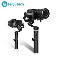 FeiyuTech feiyu G6 Plus Gimbal 3-Axis Handheld Gimbal Stabilizer for iPhone Smartphone Gopro Mirrorless cameras sony as6000