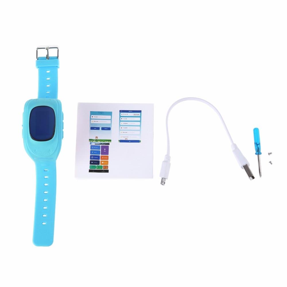 Q50 inteligentny kid safe locator location finder tracker sos rozmowy gps smart watch zegarek oled/wyświetlacz lcd dziecko anty zagubiony monitor 16