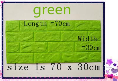 PCV 3D salon mur ceglany wzór tapety stickie dormitorium sypialnia retro wzór tapety adhesive392-F cegły 6
