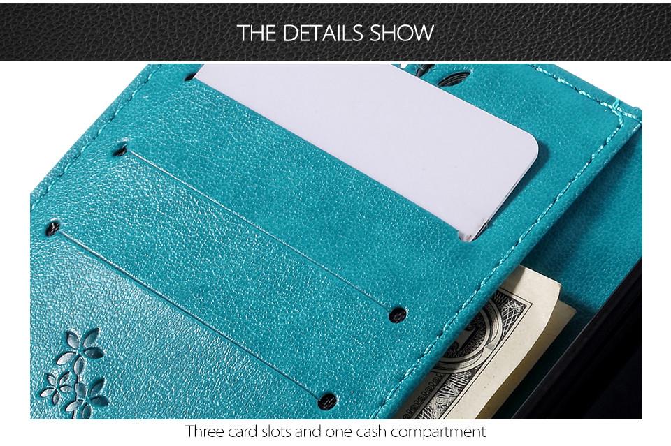 Dla microsoft nokia lumia 640 lumia 630 lumia 550 worek nadrukowane butterfly pu wizytownik skórzany telefon okładka case shell 6