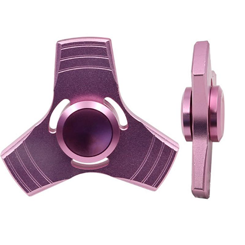 5 Kolory EDC Fidget UFO Tri-Cynku Ręcznie Spinner spinner Spinner Ze Stopu Aluminium Fidget Stres Zabawka Lęku Dorosłych Kid Metal Spinner 17