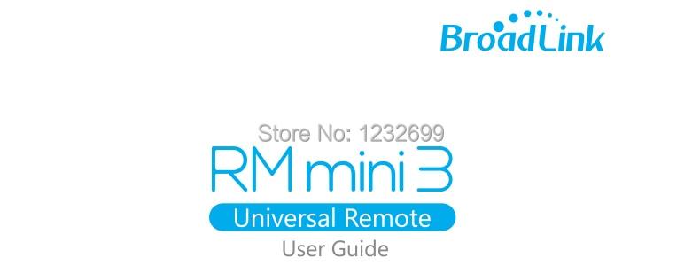 Oryginalny Mini3 Uniwersalny Inteligentny WiFi Broadlink RM/IR/4G Bezprzewodowego Pilota zdalnego sterowania Poprzez IOS Android Inteligentnego Domu automatyki 13