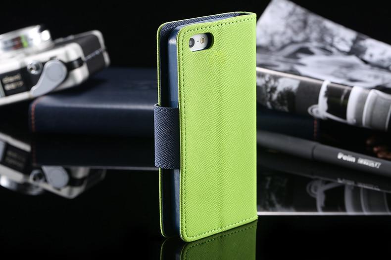 Podwójny kolor klapki skóra telefon torba case dla iphone 6 7 6 s plus 5 5S se gniazda kart + stojak kabura pokrowiec case dla iphone 7 6 6 s 8