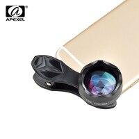 APEXEL Universal Super 18X Makro Objektiv Professionelle Makro Mobil Kamera Telefon Linsen für iPhone Samsung Xiaomi HTC APL-HD18X