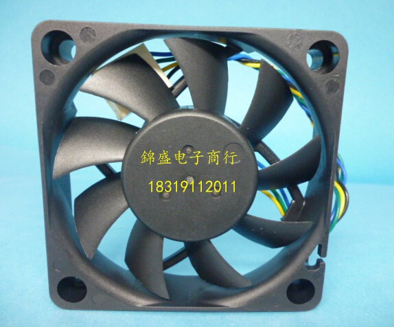 Wholesale: DELTA 60*60*13 12V 0.36A AFB0612VHC 4 line PWM intelligent temperature control CPU fan