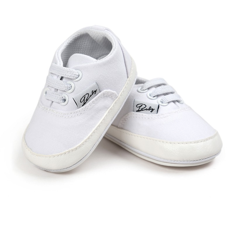 Wiosna Jesień Dziecko Noworodka Dziewczynka Chłopiec Miękkie Podeszwy antypoślizgowe Maluch Prewalker Niemowląt Sneaker Buty Na Co Dzień 38