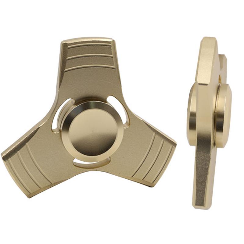 5 Kolory EDC Fidget UFO Tri-Cynku Ręcznie Spinner spinner Spinner Ze Stopu Aluminium Fidget Stres Zabawka Lęku Dorosłych Kid Metal Spinner 5