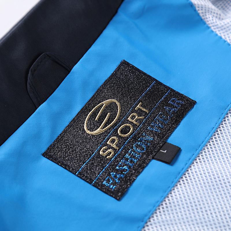 New Arrival Marka Dres Casual Sporta Kostiumu Mężczyźni Mody Bluzy Zestaw Kurtka + Spodnie 2 SZTUK Poliester Sportowej Mężczyzn 4XL 5XL SP019 18