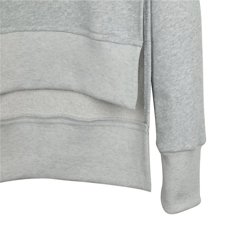 2017 Jesień Zima Kobiet Bawełna Dres 2 Sztuka Zestaw Odzież Stałe Sportwear Garnitur Kobieta 9
