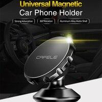 CAFELE אוניברסלי מגנטי רכב טלפון מחזיק 360 סיבוב האוויר Vent הר טלפון Stand עבור iPhone X סמסונג S10 רכב GPS טלפון בעל
