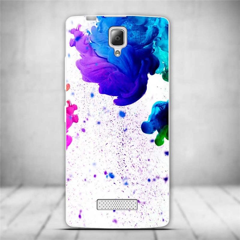 Luksusowe tylna pokrywa miękki tpu case dla lenovo a2010 a 2010 szczupła cienkie silikonowe etui na telefony dla lenovo a2010-a/a 2010 powrót skóry 27