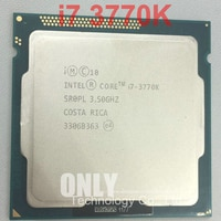 Kostenloser versand intel Core i7-3770K i7 3770K (3,5 Ghz/8 MB/4 kerne/Buchse 1155/5 GT/s DMI) desktop-CPU