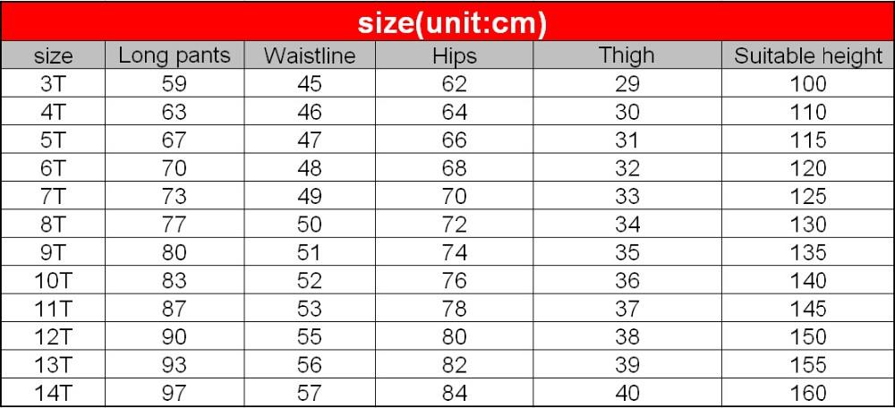 Mugavad ja stiilsed puuvillased vabaajapüksid poistele vanuses 3-14