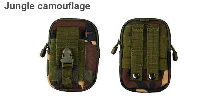 Uniwersalny Odkryty Wojskowy Molle Tactical Kabura Pasa Biodrowego Pasa Torba portfel kieszonki kiesy telefon etui z zamkiem błyskawicznym na iphone 7/lg 21