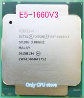 E5-1660V3 Original Intel Xeon OEM Version E5-1660 V3 3,0 GHZ 8-Core 20MB SmartCache 140W E5 1660 v3 DDR4 1866MHz FCLGA2011-3 TPD