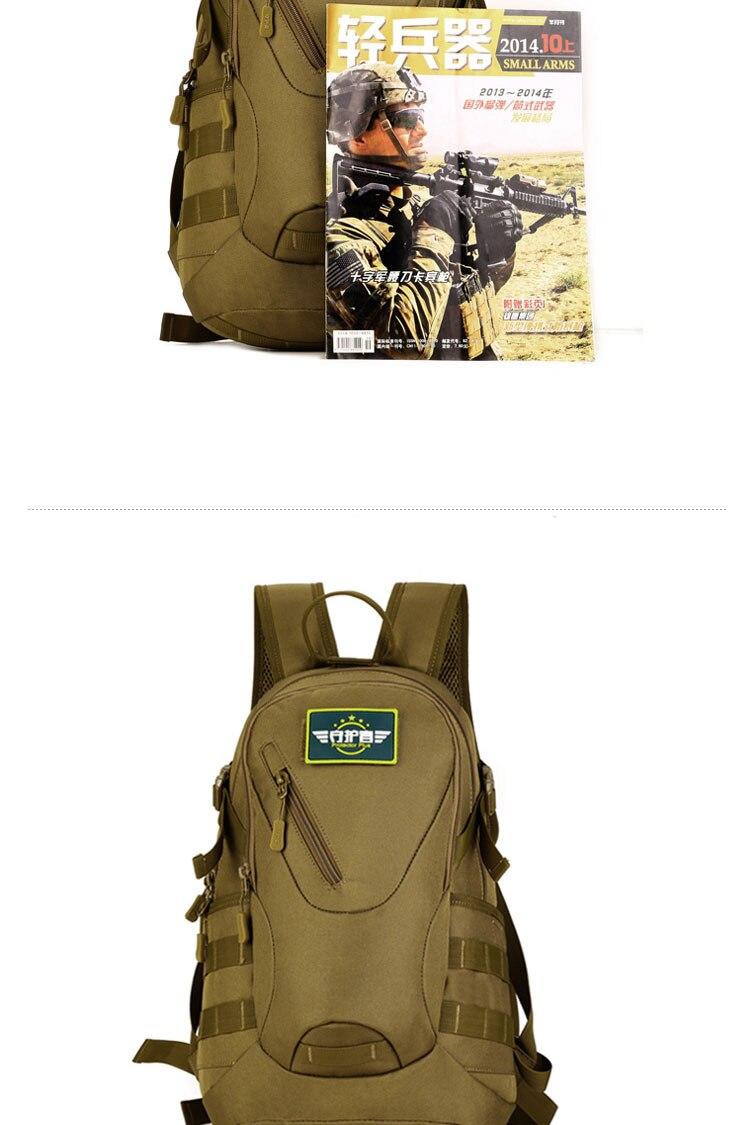Veekindel ja kvaliteetne militaarne 20L seljakott