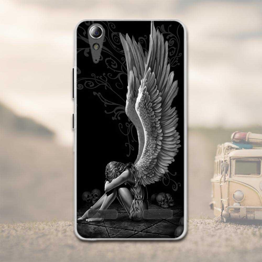 """Miękka tpu phone case dla lenovo a6010 plus & a6000 & dla lenovo lemon k3 k30-t skóry pokrywa 5 """"k 3 a 6000 6010 case dla lenovo 14"""