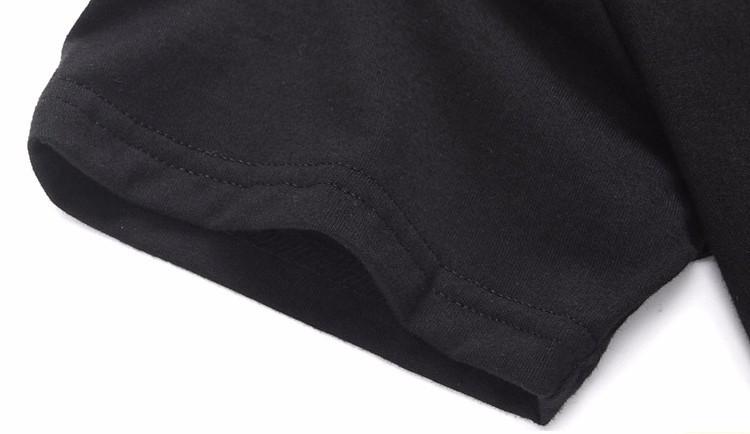 2016 Harajuku Czarny T-shirt Kobiety Panie Topy Jednorożec List Wydrukuj Casual Śmieszne Koszulki z krótkim rękawem Tee Shirt Femme Luźne 22