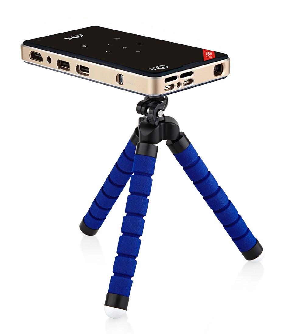 H96-P proyector 2G 16G S905 de cine en casa Mini portátil de bolsillo proyector DLP proyector Android 5,1 caja de TV