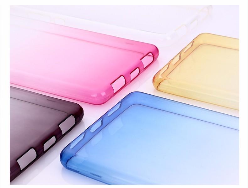 Ultra-cienki przezroczysty miękka tpu case dla huawei p8 p9 plus p8 lite krzemu gradientu telefon ochronna pokrywa dla huawei p9 Shell 8