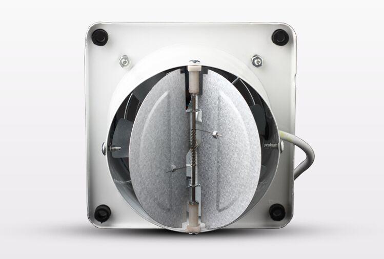 4 inch 4'' kitchen 100MM toilet wall Exhaust fan Duct blower powerful mute axial flow fan ventilator 25W 2800RPM