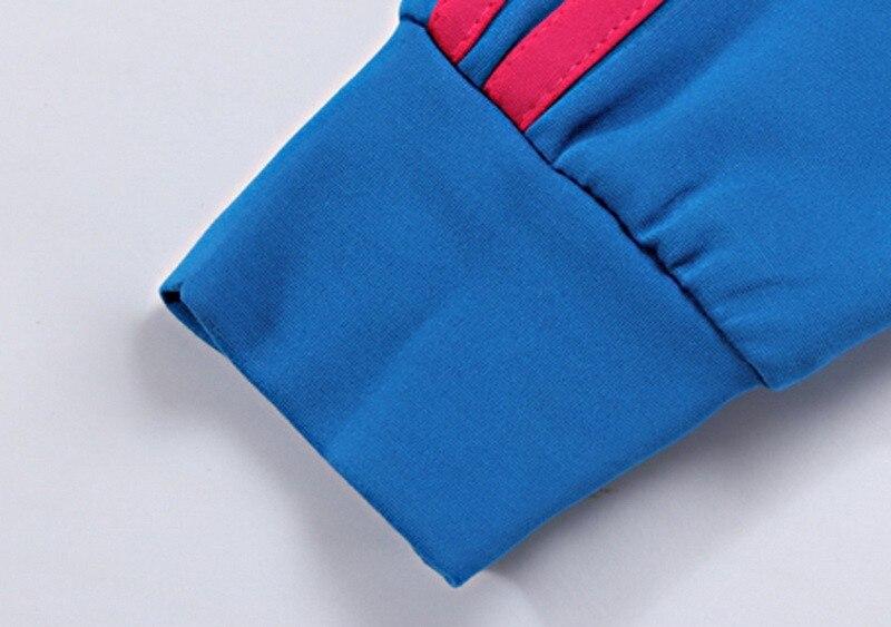 Tlzc stójka lady popular sportswear 2 sztuk zestaw żakiet + spodni plus rozmiar l-5xl patchwork styl kobiety casual dresy 4