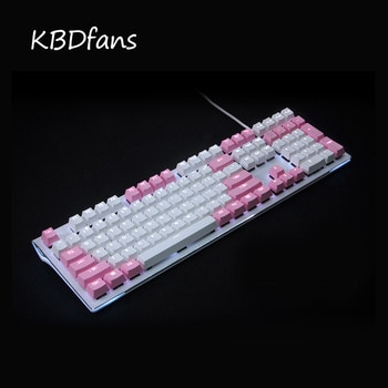 kbdfans 108 key PBT Double shot Translucidus Backlit Keycaps