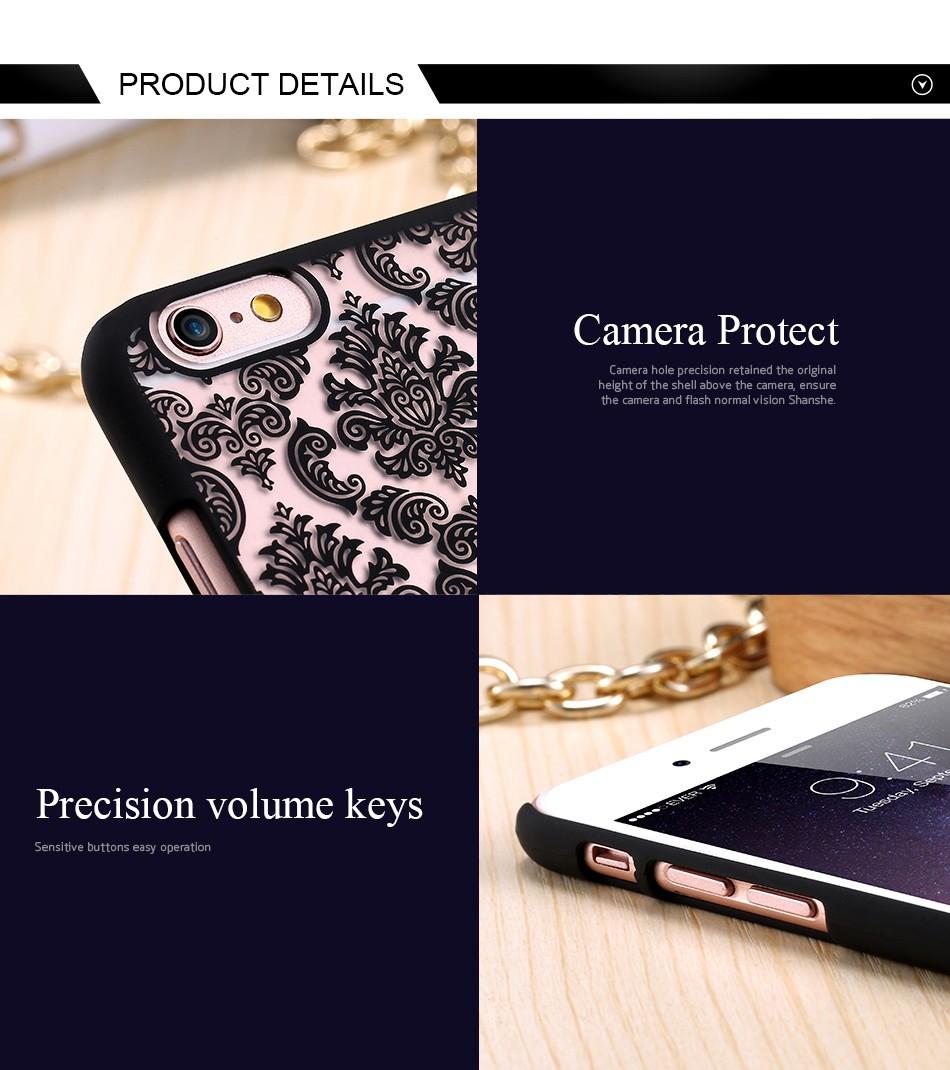 Kisscase retro elegancki wzór case dla iphone 6 6s plus samsung galaxy s7 edge s6 krawędzi uwaga 4 5 samsung e5 e7 a3 a5 a7 a8 j5 j7 7