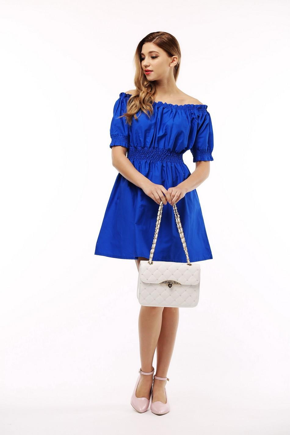 100% bawełna nowy 2017 jesień lato kobiety dress krótki rękaw casual sukienki plus size vestidos wc0380 16