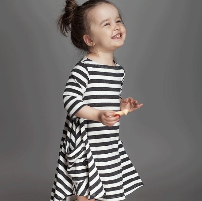 Nowy 2015 dla dzieci i mama sukienka, sukienka dziewczyny, Rodzina wygląd, kobiety piżamy dla dzieci, odzież dla dzieci, stripe, Rodzinny Wyposażony, rodzina odzież 6