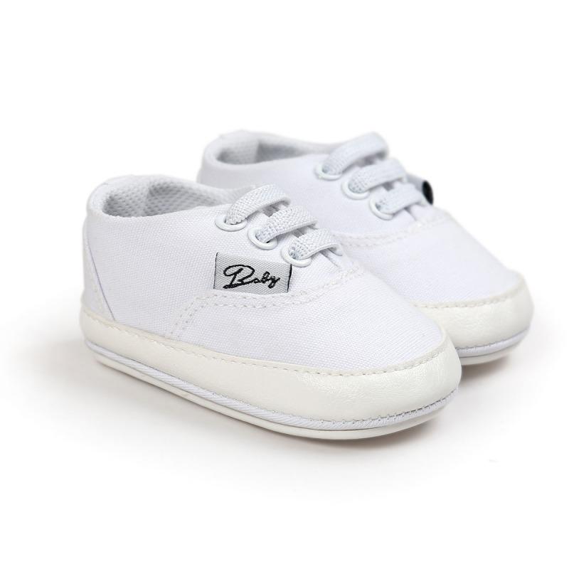 Wiosna Jesień Dziecko Noworodka Dziewczynka Chłopiec Miękkie Podeszwy antypoślizgowe Maluch Prewalker Niemowląt Sneaker Buty Na Co Dzień 36