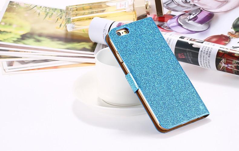 Kisscase dla iphone 5s case glitter bling skórzane etui dla iphone 5 5s se 6 6 s 7 plus stań portfel pokrywa dla iphone 7 7 plus SE 14