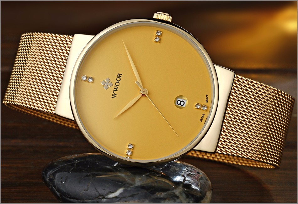 Ultra Thin Waterproof Casual Watches