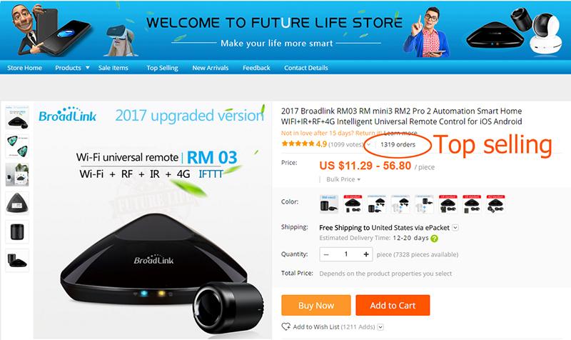 Broadlink RM3 RM Pro/RM mini3 Automatyki Inteligentnego Domu Uniwersalny Inteligentny Pilot WIFI + IR + RF Przełącznik dla iOS Android 5