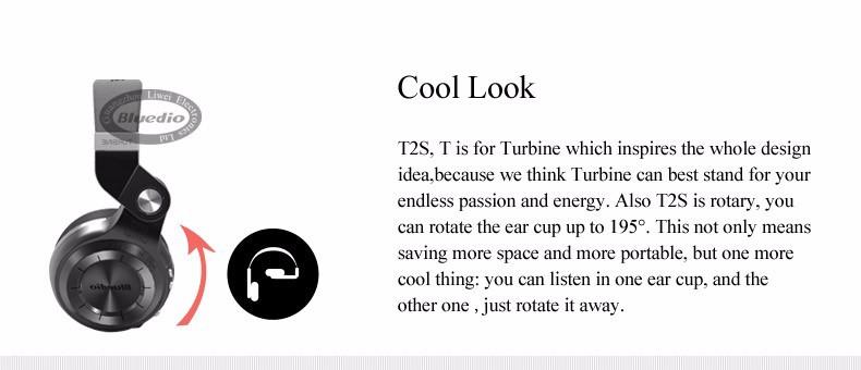 Bluedio t2s (brake fotografowania) słuchawki stereofoniczne słuchawki bezprzewodowe bluetooth 4.1 zestaw słuchawkowy bluetooth nad słuchawek dousznych 5